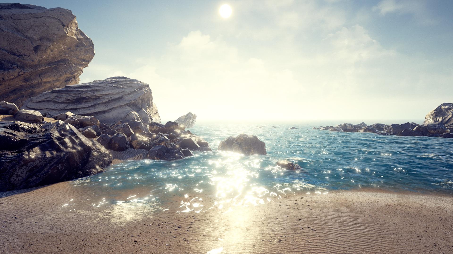 UE4 Beach scene | David Miranda